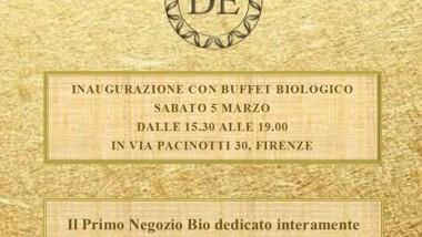 Cosmesi naturale e biologica Firenze apre un nuovo negozio!!