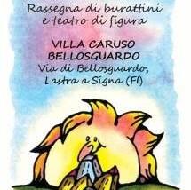 Spettacolo di burattini a Villa Caruso