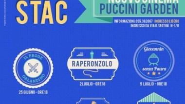 Sabato con i Pupi di Stac al Nuovo cinema Puccini Garden