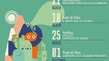 Burattini alla loggia del Pesce Firenze agosto 2016