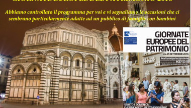 24 e 25 settembre 2016 al Museo con 1 Euro e tante iniziative gratuite