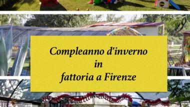 Compleanno d'inverno in fattoria a Firenze