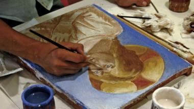 Laboratori artistici in bottega, famiglie alla scoperta delle tecniche artistiche