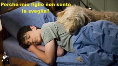 Adolescenti, maneggiare con cura: perché mio figlio non sente la sveglia ?