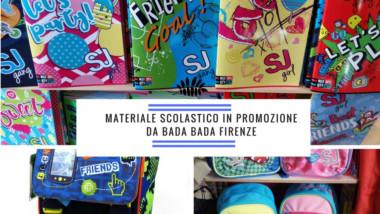 Zaini, astucci, quaderni in promozione Firenze